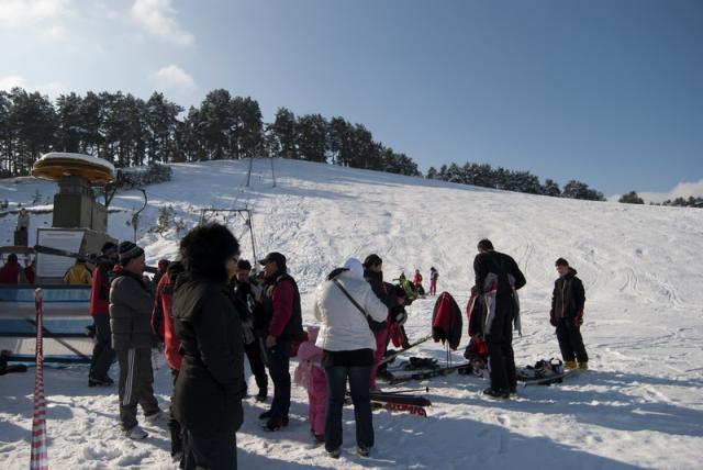 Partia de schi Dealul Taberei